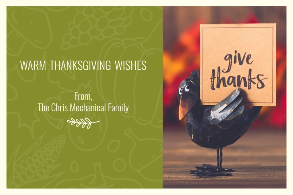 Warm Thanksgiving Wishes.