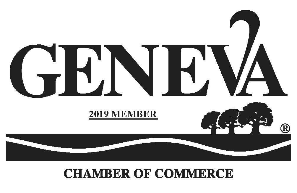 Geneva Chamber of Commerce 2019 Member.